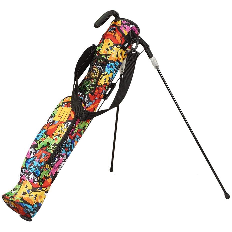メタルライン識別する吐くラウドマウスゴルフ Loud Mouth Golf クラブケース スタンドクラブケース