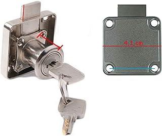 Eurotafel meubelslot deur klikslot valslot vergrendeling vergrendelingsslot 32 mm cilinder
