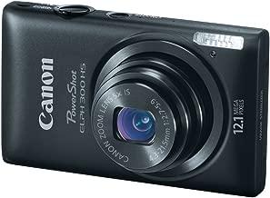 Canon PowerShot ELPH 300 HS 12.1 MP Digital Camera (Black)