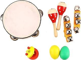 ساز موسیقی کودکان و نوجوانان Zochoose ، اسباب بازی های ساز موسیقی چوبی برای کودکان نوپا ، مجموعه اسباب بازی های موسیقی