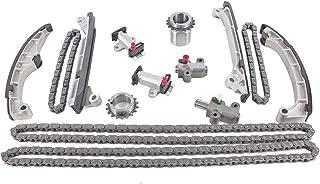 DNJ TK978C Timing Chain Kit for 2008-2015 / Lexus, Toyota / GS460, GX460, IS F, LS460, LS600h, RC F, Sequoia, Tundra / 4.6L, 5.0L / DOHC / V8 / 32V / 303cid, 4608cc, 4968cc / 1URFE, 1URFSE, 2URGSE