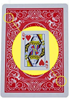 Enjoyer Marked Stripper Deck Playing Cards Poker Magic Tricks Props Close Up Street Illusion Mentalism Gimmick