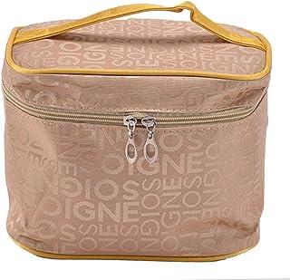 Fanspack Makeup Bag Cosmetic Handbag Large Capacity Portable Toiletry Bag for Travel