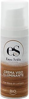 Crema facial hidratante iluminadora con baba de caracol 50 ml ecològica fabricada en Italia