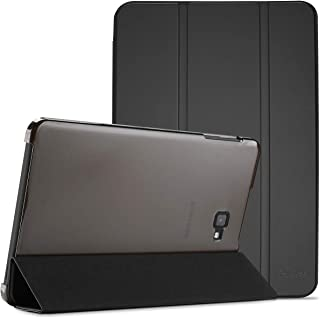 ProCase Galaxy Tab A 10.1 2016 Case T580 T585 T587, Ultra Slim Lightweight Stand Shell Case Smart Cover for 10.1 Inch Galaxy Tab A Tablet SM-T580 T585 T587 2016 Release –Black