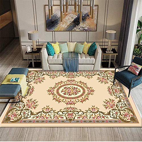 Bedroom Rug Living Room Carpet Gray Ink Retro Old Pattern Soft Carpet Durable Gray Big Rugs for Living Room 120X160CM Rugs for Living Room Sale 3ft 11 2 X5ft 3