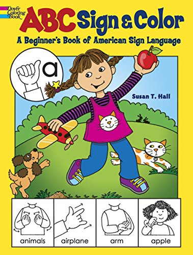 ABC Sign and Color: A Beginner