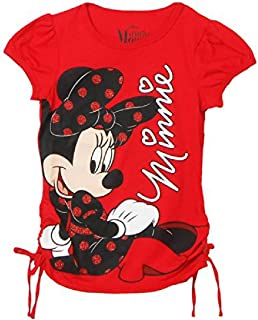 Girls Minnie Mouse On The Ground T-Shirt