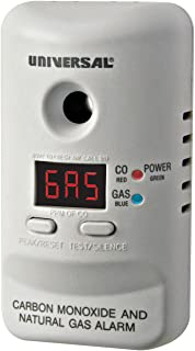 Universal Security Instruments M Series Plug-In Carbon Monoxide and Natural Gas Alarm..