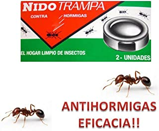 TONOSEVILLA - Nido Trampa Adhesiva contra Hormigas TRAMPAS Eliminar HOGAR Hormiga