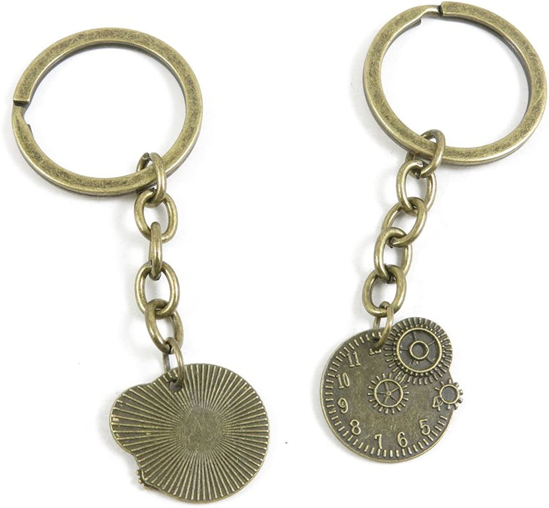 180 Pieces Fashion Jewelry Keyring Keychain Door Car Key Tag Ring Chain Supplier Supply Wholesale Bulk Lots T0IC7 Gear Wheel Cog Steampunk