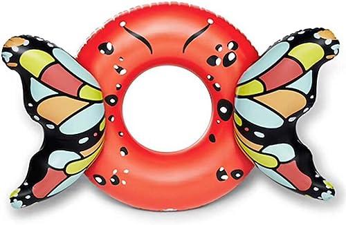 envio rapido a ti El Nuevo Anillo Creativo De La Nadada Nadada Nadada De La Mariposa Juguetes Inflables, Anillo Inflable Grueso Adulto De La Natación Del Pvc Juguetes De Agua, Juguete de piscina - 160  110cm  barato