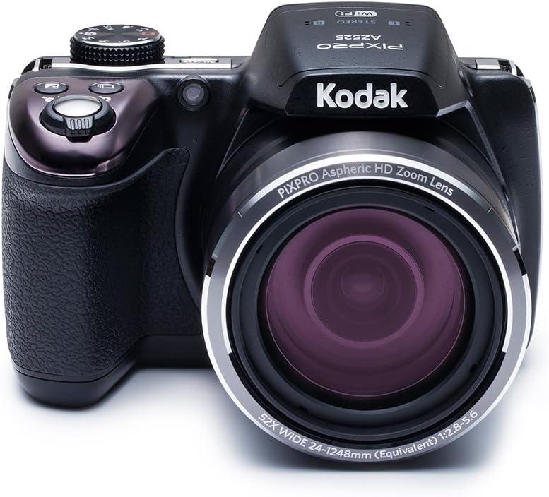 Kodak PIXPRO AZ525 - Cámara Digital (16,35 MP, 4608 x 3456 Pixeles, BSI CMOS, 52x, Full HD, Negro)