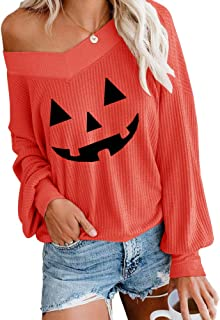 ETCYY Women's Off Shoulder Sweater Colorblock Batwing Sleeve Loose Oversized Knit Pullover Tops