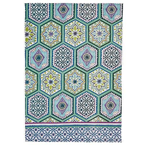 Ulster Weavers Ulster Weaver Lisbon Tiles Cotton Tea Towel TT Lisboa Azulejos, Multicolor, Talla única