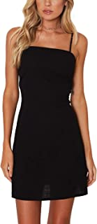 black hollow out dress
