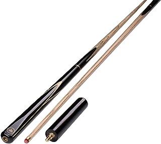 Ommda ASH Hardwood Basen Cues 140 cm Snooker Cues 3/4 przeguby 9,7 mm końcówki 49 ml zestaw kostek i etui
