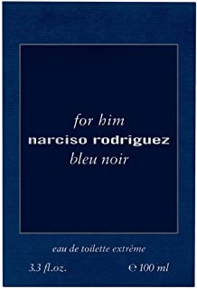 Narciso Rodriguez Bleu Noir Extreme for Men Eau de Toilette 100ml