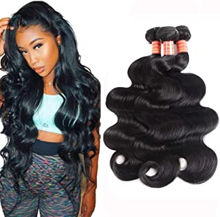 Simei 8A Brazilian Virgin Hair Body Wave 3 Bundles 100% Unprocessed Human Hair Weave 300g/lot Natural Black Hair Extension...