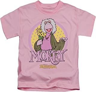 Fraggle Rock Little Boys Mokey Circle T-Shirt
