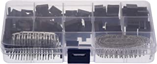 DOITOOL Kit de 610 peças de conectores de crimpagem e crimpagem, kit de ferramentas de crimpagem, cabeçotes de pino