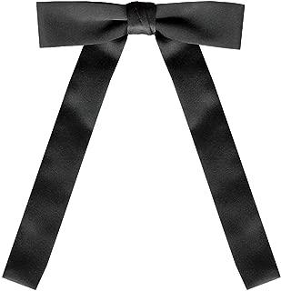 Black Satin Western Kentucky String Tie