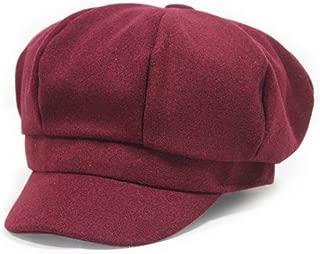 Zegoo Wool Newsboy Hat Beret Cap Ivy Hats for Women and Men