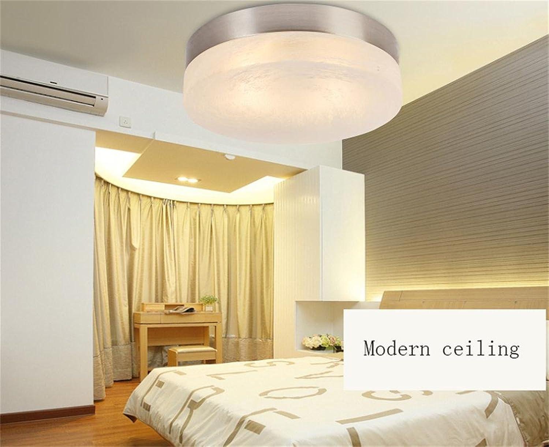 Moderne energiesparende Deckenleuchte - Runde LED-Decken moderne minimalistische Restaurant Terrasse Decken (Nicht die Lichtquelle einschlieen) (gre   S)