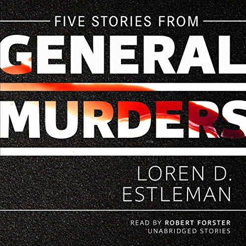 Five Stories from General Murders audiobook cover art