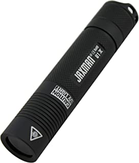 UV Black Light Flashlight by JAXMAN U1-3w enhanced LED - Professional Grade 365nm- Best for Industrial/Domestic Works Even in Ambient Light (no battery included)