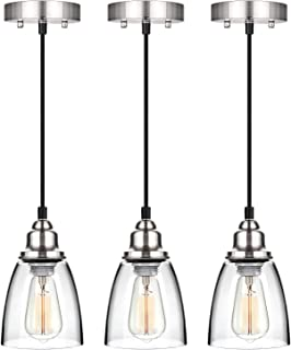 Best 3 light kitchen island fixture Reviews