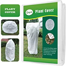 OriginA Warm Plant Cover Winter Protection Bag Shade Cloth and Insect Barrier Bag Shrub Jacket for Season Extension&Frost Protection, 0.55oz/sq.yd, 72
