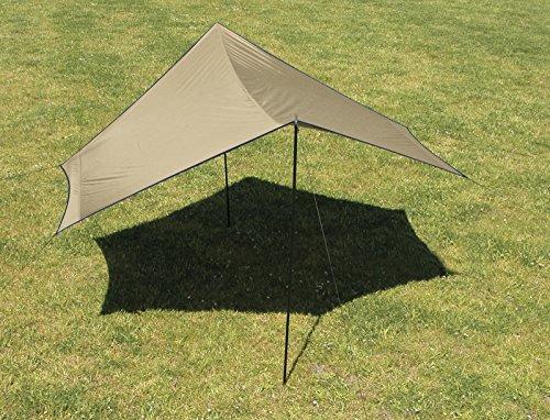 Luifel 440 x 440 cm, zonwering, tarp moran, camping, ette0621,nieuw in originele verpakking. !
