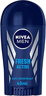 NIVEA MEN Fresh Active, Antiperspirant for Men, Fresh Scent, Stick 40ml
