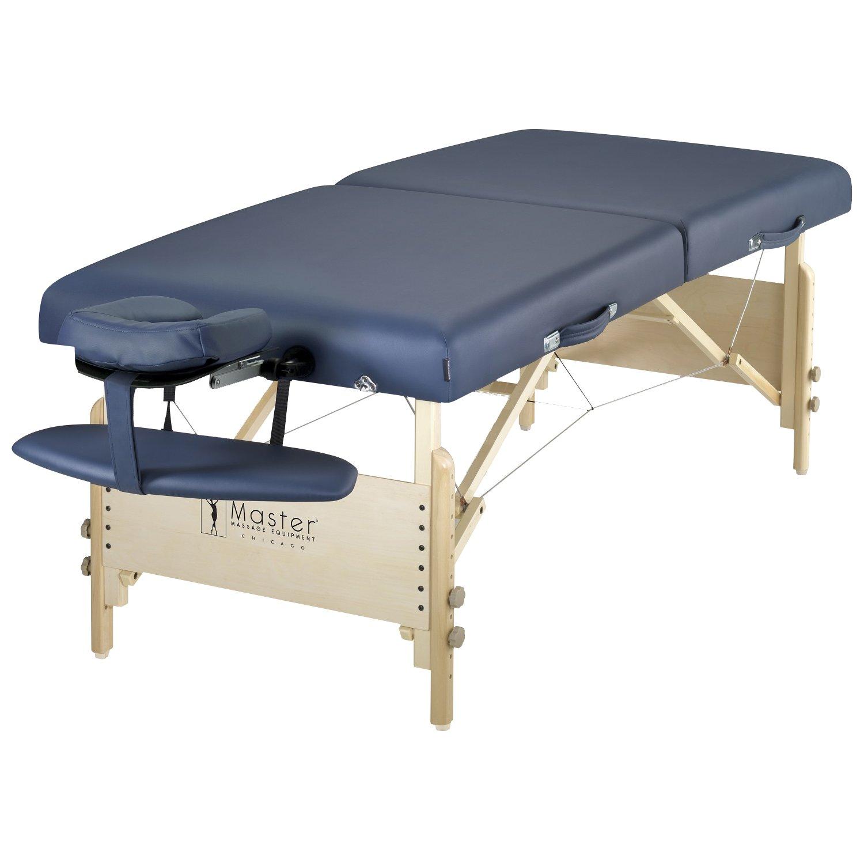 "Master Massage 30"" Coronado Pro Massage Table In Royal Blue: Beauty"