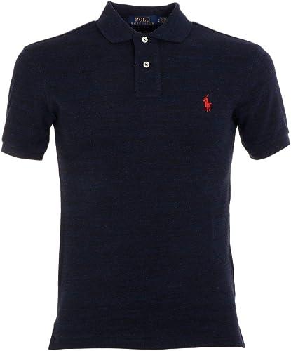 Ralph Lauren Homme 710536856108 Bleu Coton Polo