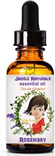 Jadole Naturals Essential Oils Rosemary 1 Fl oz () 30 ml, Pack of 1