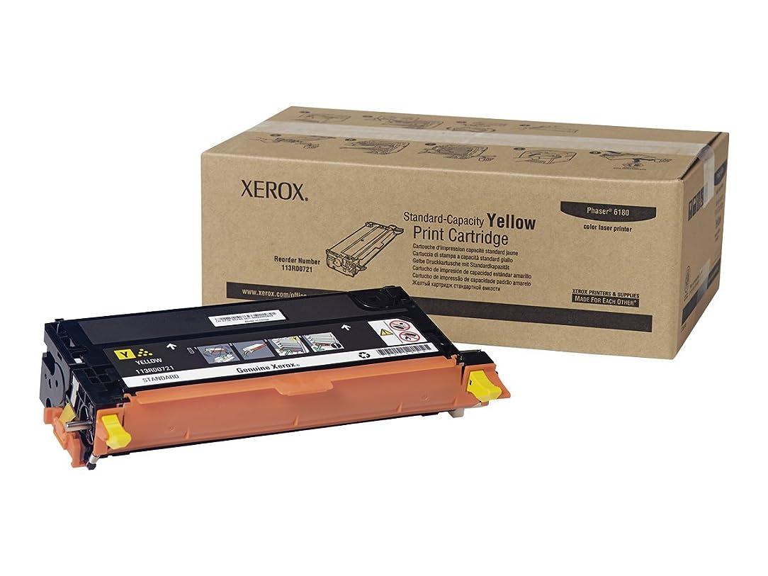 Xerox 113R00721 Phaser 6180 Yellow Standard Capacity Print Cartridge