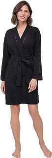 Short Bathrobes for Women - Cotton Jersey Womens Robes