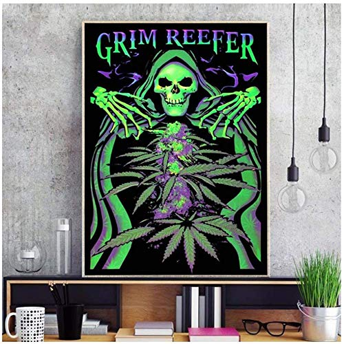 Price comparison product image NRRTBWDHL Black Light Shantou Pictures Poster Take Me to Your Dealer to The Bone Canvas Painting Bedroom Print on canvas-50x75cm No Frame