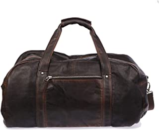 Luxury Fashion   The Jack Leathers Mens 1019HSPE06 Brown Travel Bag   Spring Summer 19