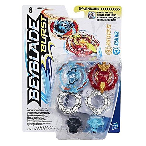 Beyblade - Burst Dual Pack Roktavor R2 & Xcalius (Hasbro B9491)