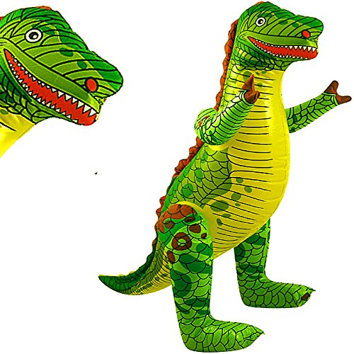 German Trendseller® - 1 x inflable dinosaurio ┃T-Rex ┃78 cm ┃fiestas infantiles┃...