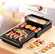 Elektrische Fornuis 3 in 1 Hot Pot BBQ Opvouwbare Multifunctionele Koreaanse Barbecue Machine Multifunctionele Elektrische...