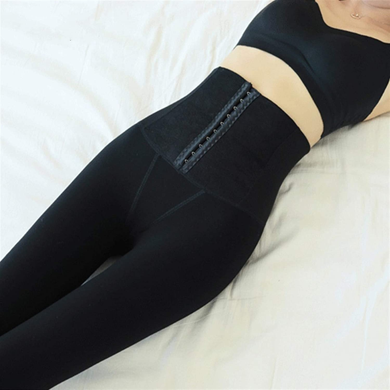 ZNQPLF Taille Hautes Jambières À Poitrine À Poitrine for Femmes Hiver Leggings Chauds Femmes Maigre Velours Velours Jambings Femmes Pantalons (Color : Black 350g) Black 350g