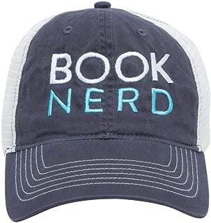 Underlined X Out of Print Book Nerd Trucker Hat