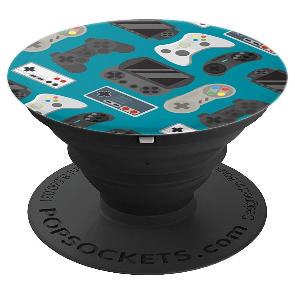 Gaming Controller Pattern For Game Gamer Lover Gift - PopSockets Grip and Stand for Phones and Tablets
