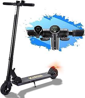 HUABANCHE Trottinettes Électriques, 25 km/h Scooter Électrique Autonomie de 15km, 150W Trotinette Electrique pour Adolesce...