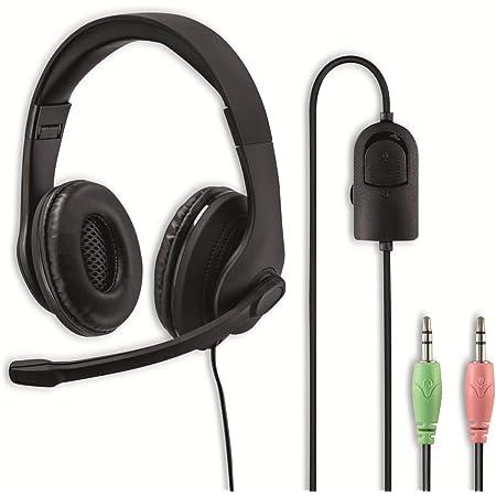 Hama Pc Office Headset Hs P200 Stereo Schwarz Elektronik
