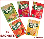 TANG 50 Bolsita S = 50 LT, naranja, limón, tropical, fresa, ANANAS